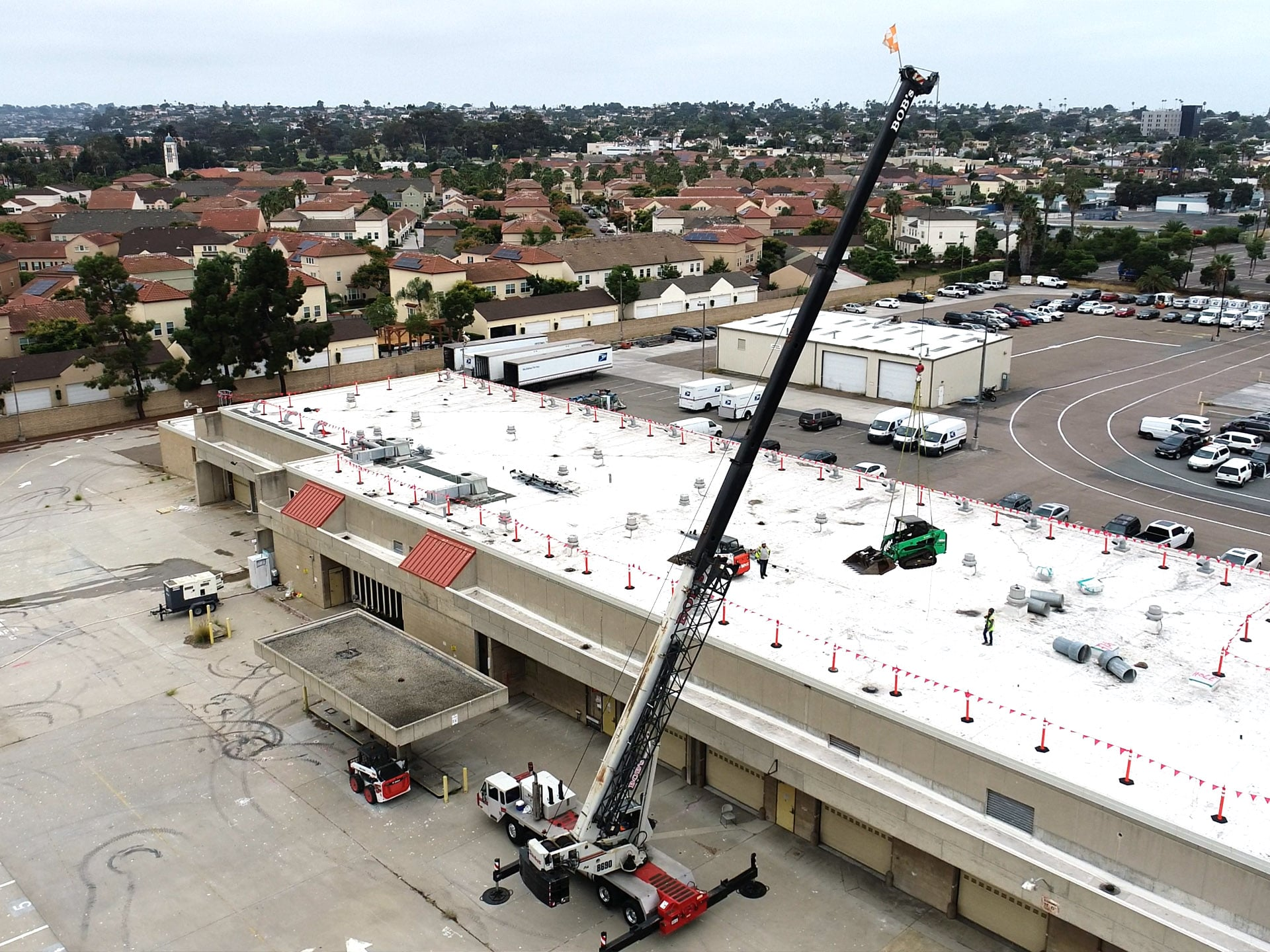 Manchester Pacific Gateway crane for skid